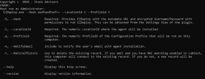 EZDeploy Command Line